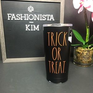 Rae Dunn trick or treat Halloween tumbler